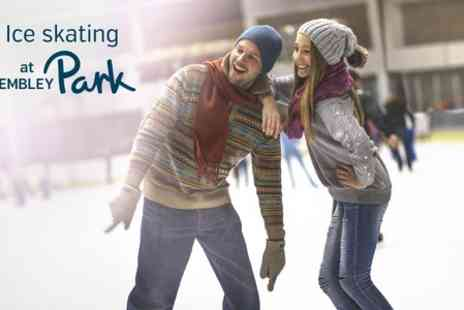 Ice Skating at Wembley Park - Ticket to Ice Skating at Wembley Park Plus Hot Chocolate - Save 10%