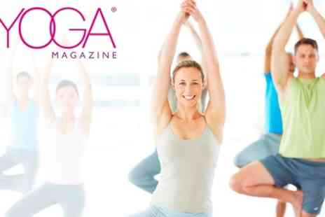 British Yoga Festival - Entry to British Yoga Festival For Two - Save 54%