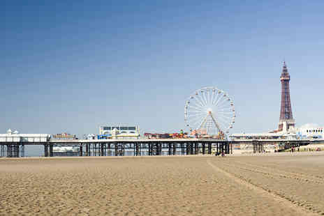 The Melville Hotel - One night stay including breakfast in Blackpool - Save 57%