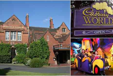 Plough and Harrow Hotel - Family pass for Cadbury World and 1 night in a hotel with breakfast included - Save 46%