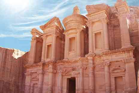 Jordan with Flights - Seven night adventure including hotels, car hire, breakfast and luggage - Save 36%