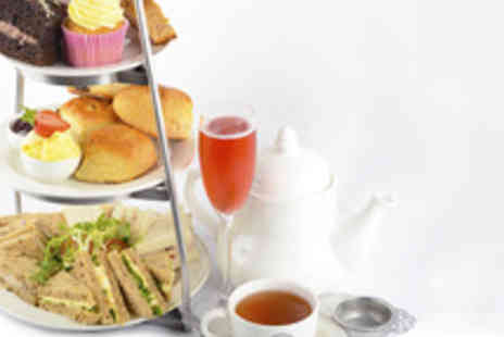 Huffkins - Christmas Afternoon Tea for Two with Sparkling Rose - Save 41%