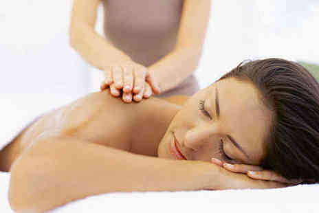 The Chelsea Day Spa - Back, Neck, and Shoulder Massage with Face Massage - Save 59%