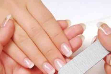 Touch Spa - Luxury manicure with a spa pedicure,  a paraffin wax, and a soothing hand massage - Save 72%