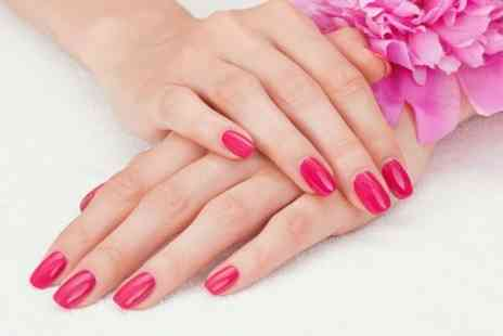 Krem Beauty Clinic - Shellac Manicure or Pedicure - Save 53%