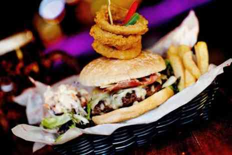 Around the World Bar  - Burger, Salad or Pizza With Drink  - Save 50%