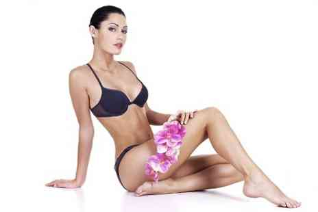 VGmedispa - Six Sessions of Laser Hair Removal - Save 90%