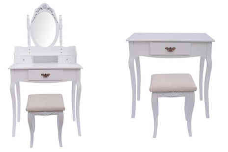 Mhstar - Antique Style Dressing Table - Save 48%