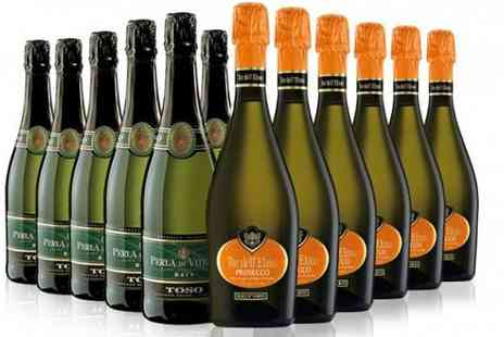 Italiana Choice - Six Bottles of Prosecco & 6 Bottles of Brut - Save 36%