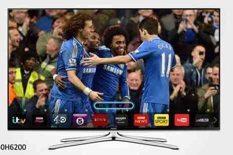 "PRC Hi Fi & Video - A Choice of 46"" or 50"" Samsung Smart HD LED TVs - Save 21%"