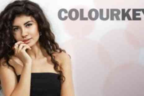 Colour Keys - Full Head Foils or Colour With Deep Conditioning Treatment, Cut, Head Massage - Save 57%