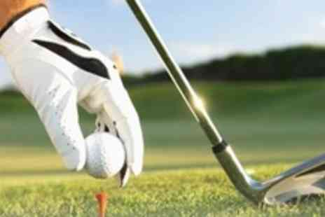 Bishopbriggs Golf Range - One Day Intensive Golf Coaching With PGA Professional - Save 71%