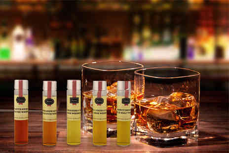 Flaviar - Whisky tasting set including 5 bottles and entry to the School of Spirits - Save 55%