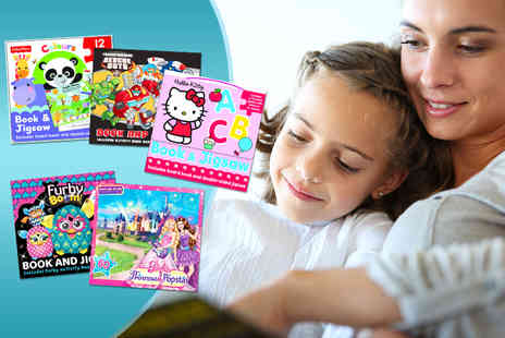 Iqbooks  - Childrens activity book and jigsaw set - Save 50%