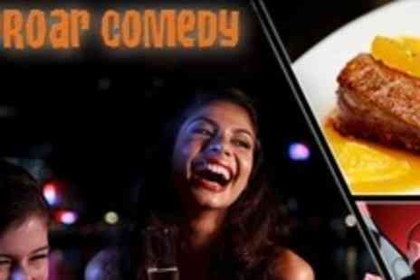Riproar Comedy - Comedy Night With Meal For One - Save 58%