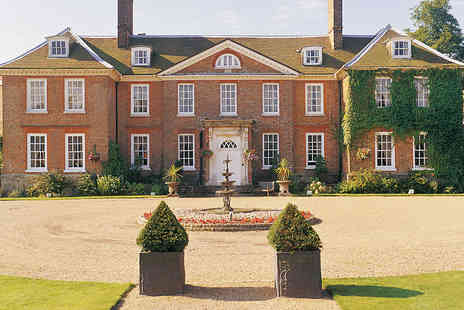 Handpicked Hotel  - Elegant Kent Manor Hotel Dining Stay for Two - Save 29%