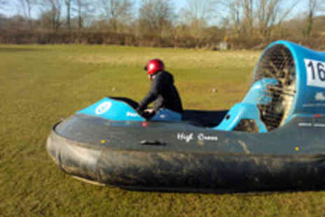 High Cross Hovercraft - Thrilling 90 Minute Hovercraft Taster Session for One  - Save 56%