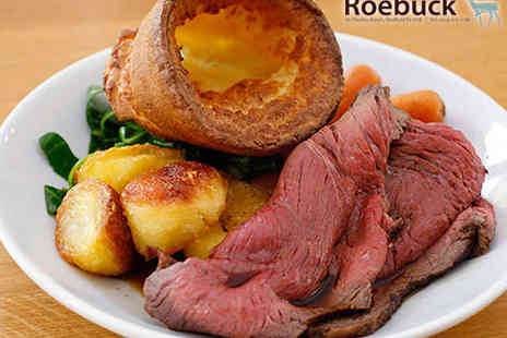 The Roebuck - Starter and Main Course for Two - Save 53%