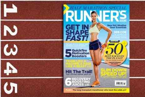 Hearst Magazines - 12 Month Subscription to Runners World Magazine - Save 59%