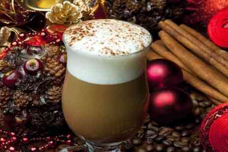 Grape & Bean - Gingerbread Latte and Choice of Cake For Two  - Save 31%