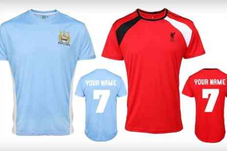Printed Wardrobe - Official Personalised Football Shirt - Save 43%
