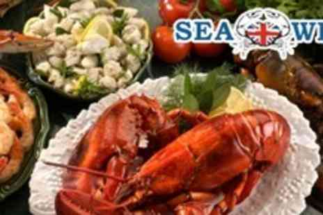 Seawise - Seafood Platter For Two With Glass of Prosecco Each - Save 61%