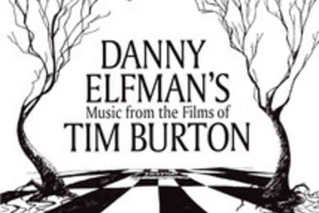 Royal Albert Hall - Ticket to Danny Elfman's Music from the Films of Tim Burton - Save 39%