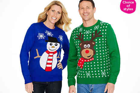 chums - Unisex Christmas Jumper - Save 67%