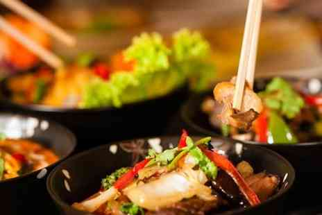 Tuk Tuk Asian Bar - Two Course Asian Fusion and Prosecco For Two - Save 57%