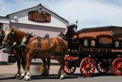 Cotleigh Brewery - Cotleigh Tour and Beer Tasting For Two - Save 50%