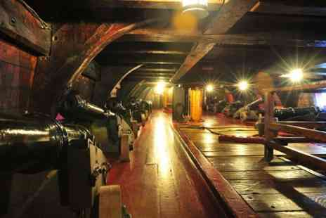 The Golden Hinde Trust - Self Guided  or Guided  Tour of the Golden Hinde II For Two - Save 42%