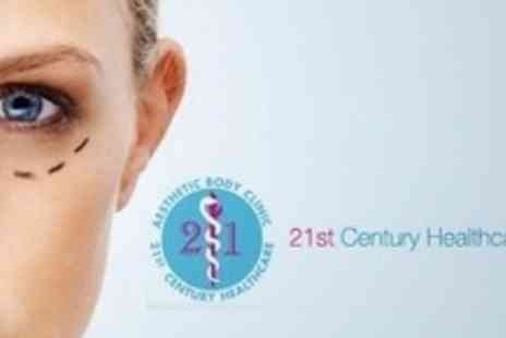 21st Century Healthcare - Blepharoplasty or Eye Bag Removal - Save 73%
