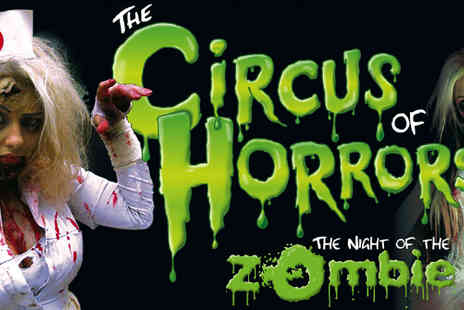 Ferneham Hall - Two tickets to The Circus of Horrors - Save 58%