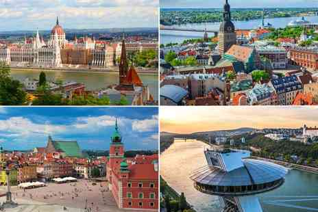 Best LDN Walks - Two nights in Bratislava, Budapest, Riga or Warsaw with flights from London - Save 39%