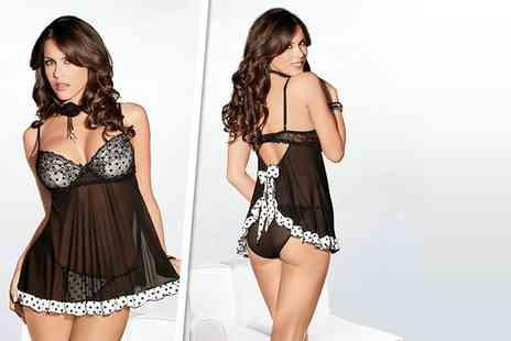 Love Lingerie - Nightwear babydoll - Save 74%