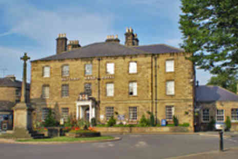 The Rutland Arms Hotel - Two Night Derbyshire Stay with a Three Course Dinner for Two - Save 52%