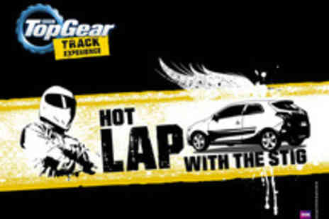 BBC Top Gear Track Experience - BBC Top Gear Hot Lap with The Stig Track Experience - Save 0%
