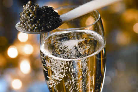 Caviar House & Prunier - Luxurious Caviar and Champagne Dining Experience for Two  - Save 35%