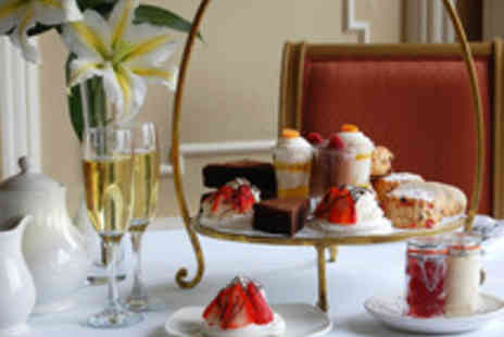 The Queens Hotel - Traditional Afternoon Tea with Champagne for Two - Save 39%