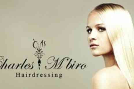 Charles M'biro - Brazilian Blow Dry With Cut and Finish - Save 73%