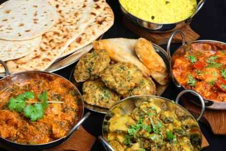Sunrise Tandoori Restaurant - Three Course Meal With Appetisers For Two - Save 54%