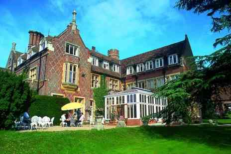 Burley Manor Hotel - One night Stay For Two With Breakfast - Save 40%
