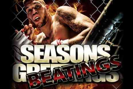 Fury MMA - Ticket to Fury MMA Seasons Beatings  or VIP Seating For Ten - Save 41%