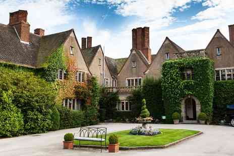 Mallory Court Hotel - Champagne Afternoon Tea for Two - Save 49%