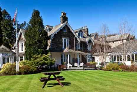The Wordsworth Hotel -  Grasmere Tranquil Hotel Stay with 4 Course Dinner - Save 48%