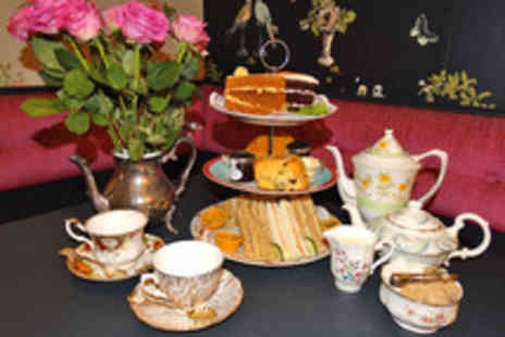 Vinteas Vintage Tea Room - Traditional or Gentlemans Afternoon Tea  - Save 33%