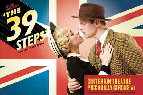 London's Criterion Theatre - Ticket to See Award Winning 'The 39 Steps' - Save 49%
