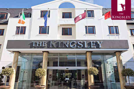 The Kingsley - One Night Stay for Two with Breakfast - Save 42%