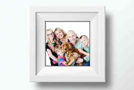 Essensi Photography - Family Photoshoot With Framed Print - Save 0%