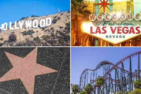 Fly out to L.A and Vegas - Enjoy an incredible 7 night trip to the USA including flights, hotels and car rental - Save 37%